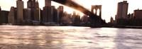 Manhattan and the Brooklyn Bridge Fine-Art Print