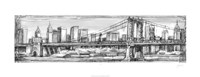 Pen & Ink Cityscape I Fine-Art Print