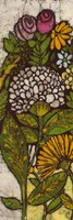 Batik Flower Panel I Fine-Art Print