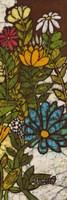 Batik Flower Panel II Fine-Art Print