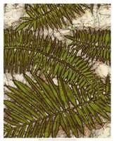 Batik Frond I Fine-Art Print