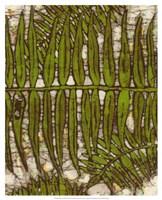 Batik Frond III Fine-Art Print