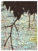 Batik Hanging Leaves II Fine-Art Print
