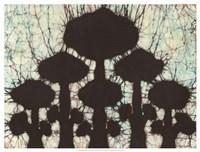 Batik Hedges II Fine-Art Print