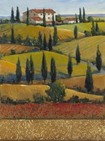 Hilltop Villa II Fine-Art Print
