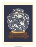Blue & White Ginger Jar I Fine-Art Print