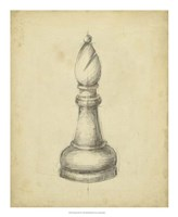 Antique Chess II Fine-Art Print