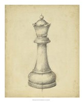 Antique Chess III Fine-Art Print