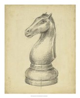Antique Chess IV Fine-Art Print