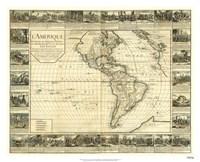 L'Amerique, Lyon, France 1752 Fine-Art Print