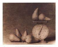 Pears with Scale Fine-Art Print