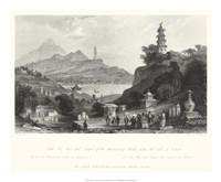 Temple, at Lake Lee-Hoo Fine-Art Print