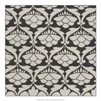 Black & Tan Tile III Fine-Art Print