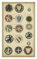 Imperial Crest I Fine-Art Print