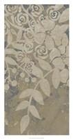 Linen Chintz II Fine-Art Print