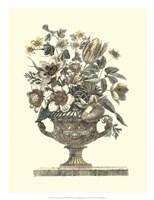 Flowers in an Urn I (Sepia) Fine-Art Print