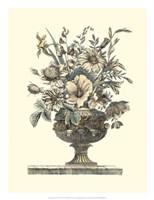Flowers in an Urn II (Sepia) Fine-Art Print