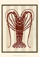 Sea Life Silhouette IV Fine-Art Print