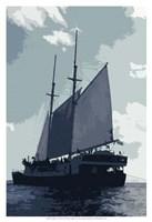 Caribbean Vessel I Fine-Art Print