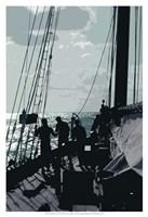 Caribbean Vessel II Fine-Art Print