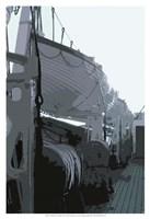Caribbean Vessel III Fine-Art Print