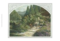 Lavender Garden Fine-Art Print