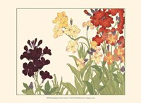 Small Japanese Flower Garden I Fine-Art Print