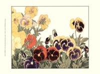 Small Japanese Flower Garden V Fine-Art Print