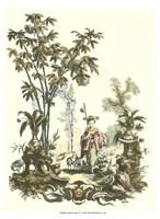 Asian Garden I Fine-Art Print