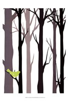 Forest Silhouette I Fine-Art Print