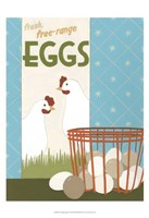 Free-Range Eggs Fine-Art Print