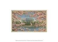 Lincoln Memorial & Cherry Blossoms Fine-Art Print