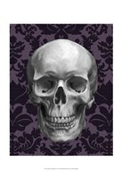 Skull on Damask Fine-Art Print