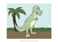 Prehistoric Playtime I Fine-Art Print