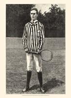 Harper's Weekly Tennis III Fine-Art Print
