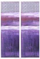 2-Up Purple Rain I Fine-Art Print