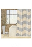 Patterned Bath II Fine-Art Print