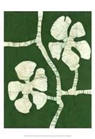 Green Blooms I Fine-Art Print