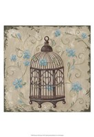 Decorative Bird Cage II Fine-Art Print