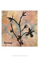 Modern Tree in Black IV Fine-Art Print