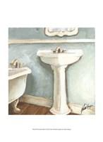 Porcelain Bath I Fine-Art Print