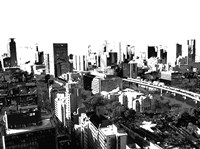 Skyline in Osaka1 Fine-Art Print