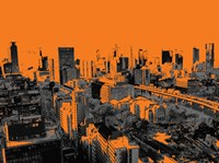 Skyline in Osaka2 Fine-Art Print
