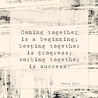 Coming Together Fine-Art Print