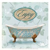 Enjoy Bath Fine-Art Print