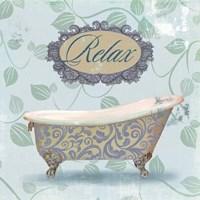 Relax Bath Fine-Art Print