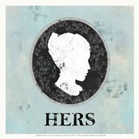 Hers Cameo Fine-Art Print