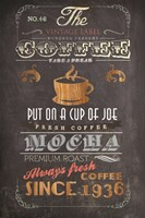 Coffee Menu I Fine-Art Print