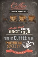 Coffee Menu II Fine-Art Print