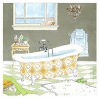 Gold Bath II - Mini Fine-Art Print